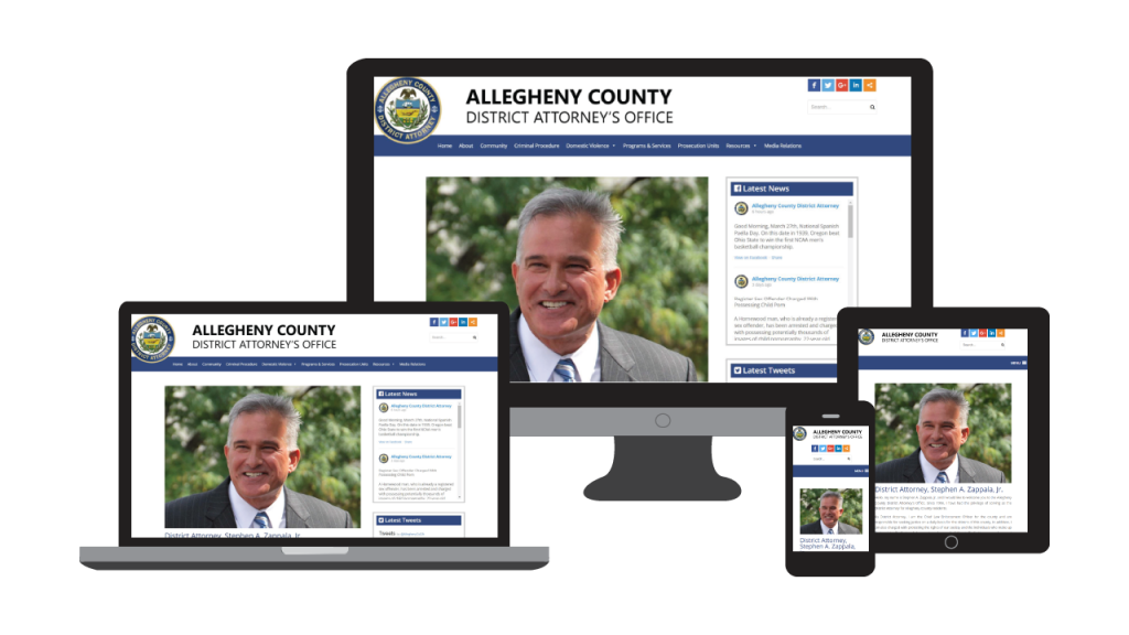 GovUnity Website Redesign Program