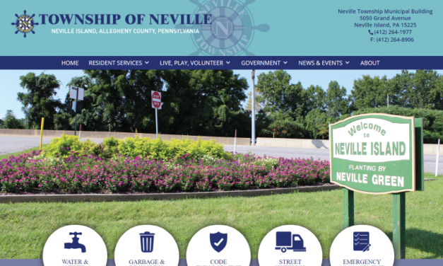 Neville Township Website Design