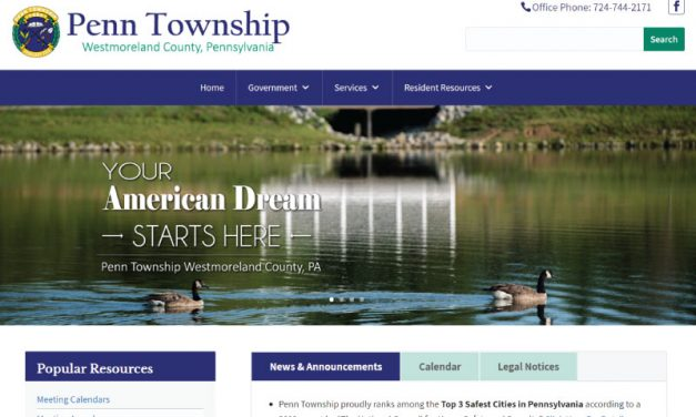 Penn Township Website Design