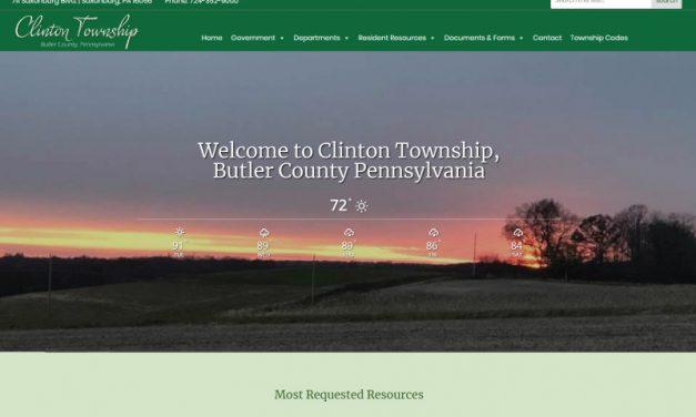 Clinton Township Website Design